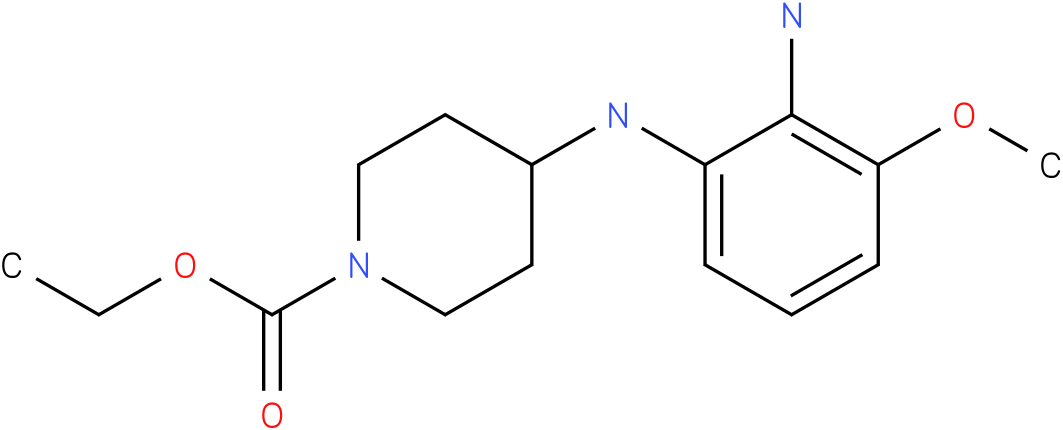 1-PIPERIDINECARBOXYLIC ACID,4-[(2-AMINO-3-METHOXYPHENYL)AMINO]-,ETHYL ESTER