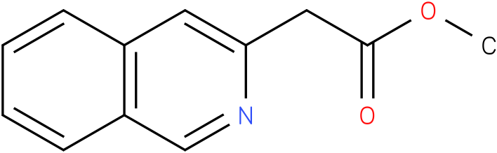 methyl 2-(isoquinolin-3-yl)acetate