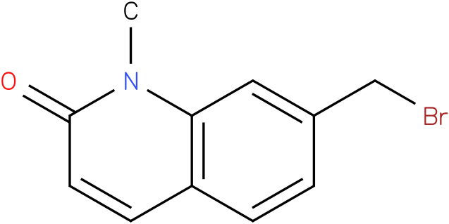7-(bromomethyl)-1-methylquinolin-2(1H)-one
