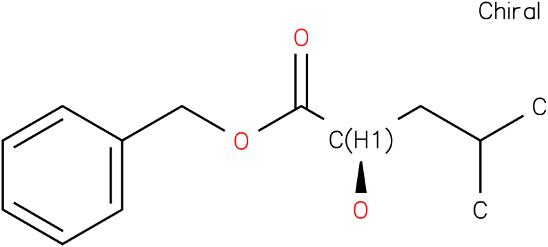 (R)-benzyl 2-hydroxy-4-methylpentanoate