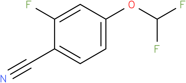 4-(difluoromethoxy)-2-fluorobenzonitrile