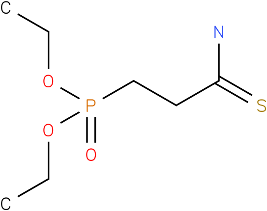 diethyl 3-amino-3-thioxopropylphosphonate