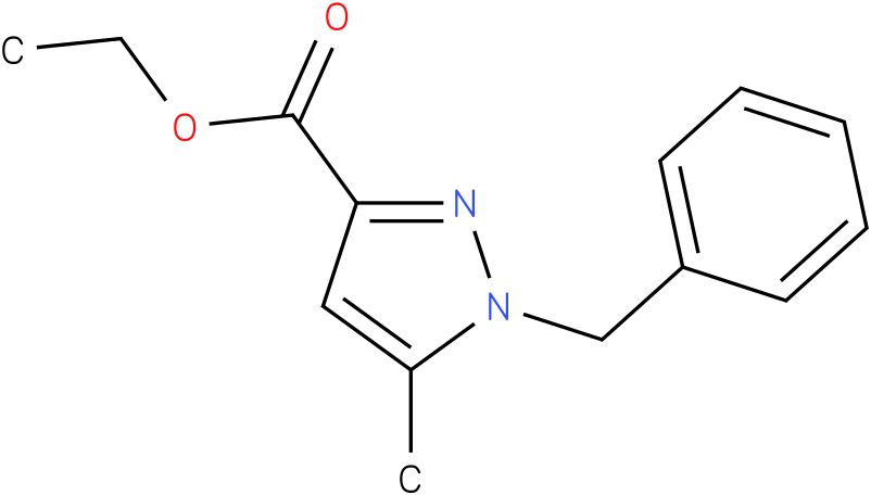 ETHYL 1-BENZYL-5-METHYL-1H-PYRAZOLE-3-CARBOXYLATE