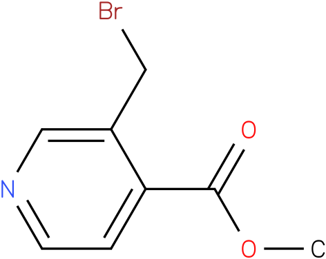 3-(BROMOMETHYL)-PYRIDINE-4-CARBOXYLIC ACID METHYL ESTER
