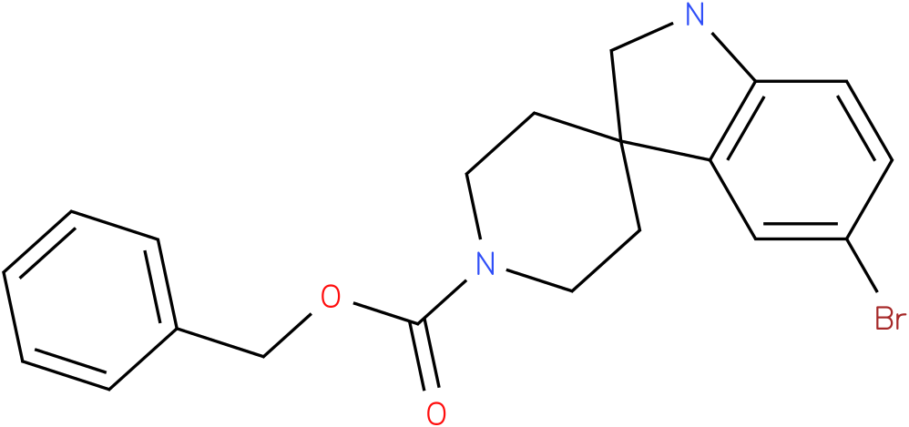 benzyl 5-bromospiro[indoline-3,4'-piperidine]-1'-carboxylate