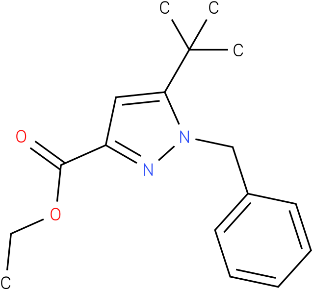 ethyl 1-benzyl-5-tert-butyl-1H-pyrazole-3-carboxylate