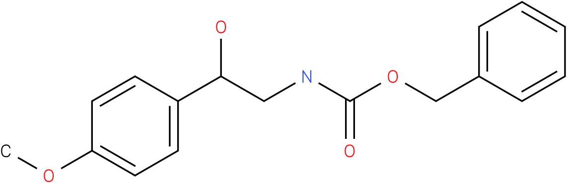 BENZYL 2-HYDROXY-2-(4-METHOXYPHENYL)ETHYLCARBAMATE