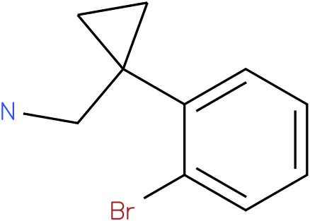 C-[1-(2-BROMO-PHENYL)-CYCLOPROPYL]-METHYLAMINE