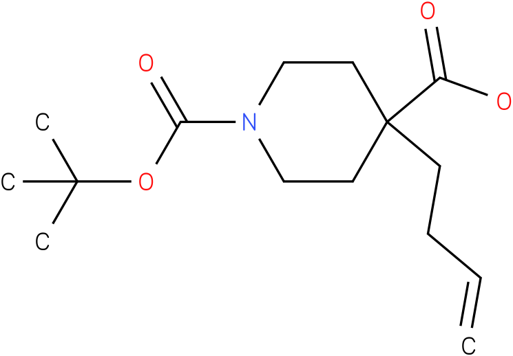 4-(but-3-enyl)-1-(tert-butoxycarbonyl)piperidine-4-carboxylic acid