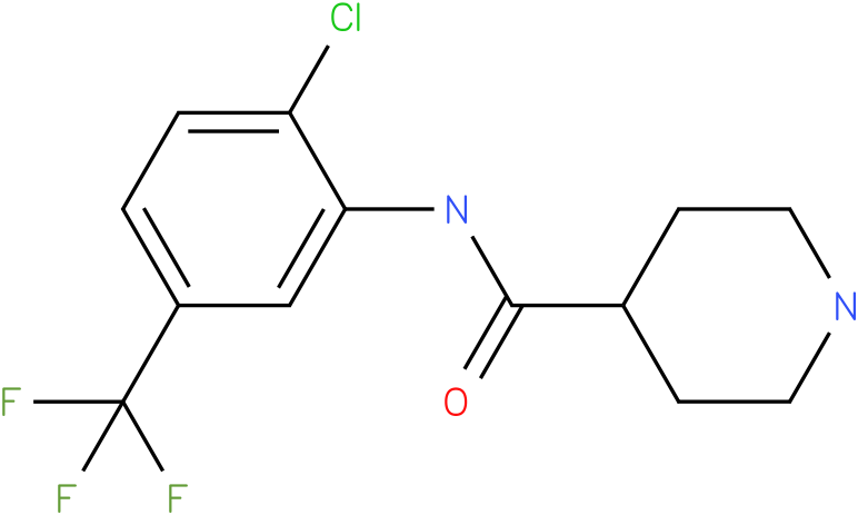Piperidine-4-carboxylic acid (2-chloro-5-trifluoromethyl-phenyl)-amide