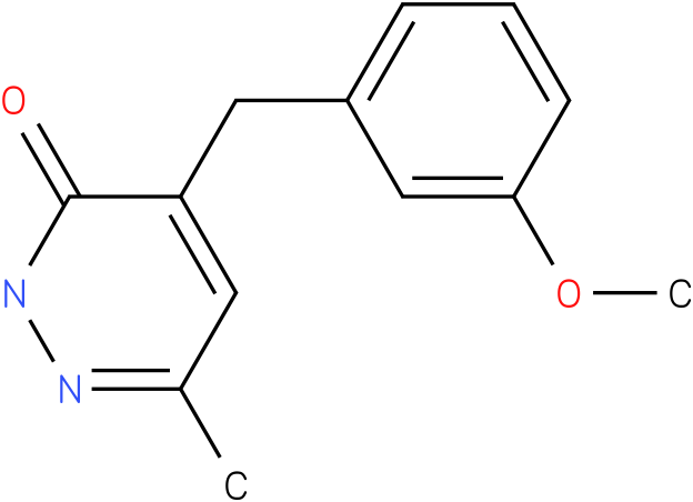 4-(3-Methoxy-benzyl)-6-methyl-2H-pyridazin-3-one