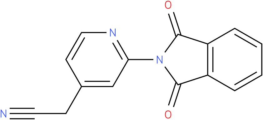 2-(2-(1,3-dioxoisoindolin-2-yl)pyridin-4-yl)acetonitrile