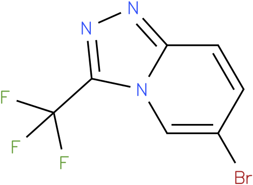 1,2,4-TRIAZOLO[4,3-A]PYRIDINE,6-BROMO-3-TRIFLUOROMETHYL-