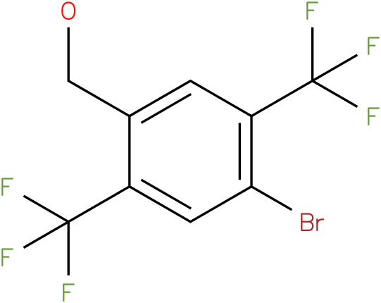 (4-bromo-2,5-bis(trifluoromethyl)phenyl)methanol