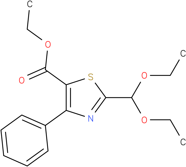 ethyl 2-(diethoxymethyl)-4-phenylthiazole-5-carboxylate