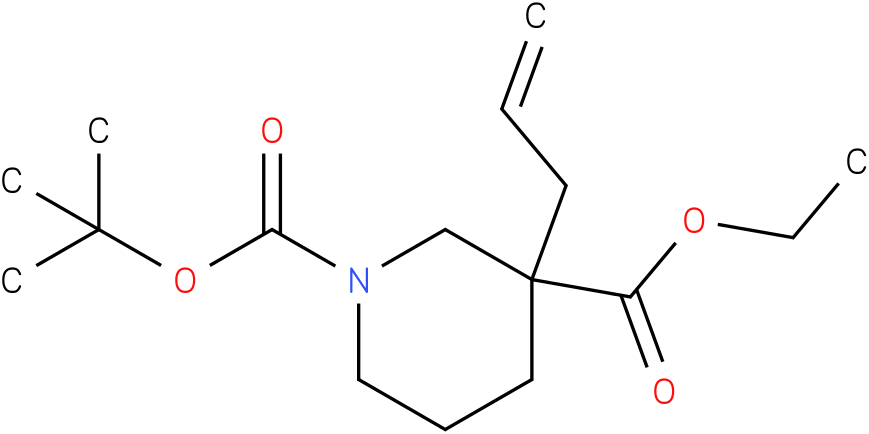 1,3-PIPERIDINEDICARBOXYLIC ACID,3-(2-PROPEN-1-YL)-,1-(1,1-DIMETHYLETHYL) 3-ETHYL ESTER