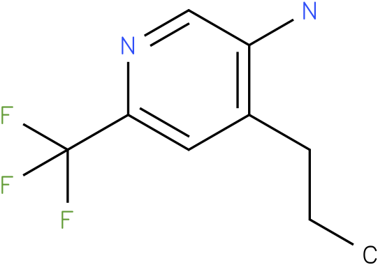 4-Propyl-6-trifluoromethyl-pyridin-3-ylamine