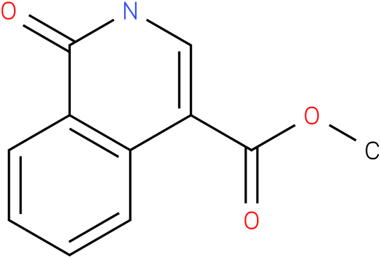 methyl 1,2-dihydro-1-oxoisoquinoline-4-carboxylate