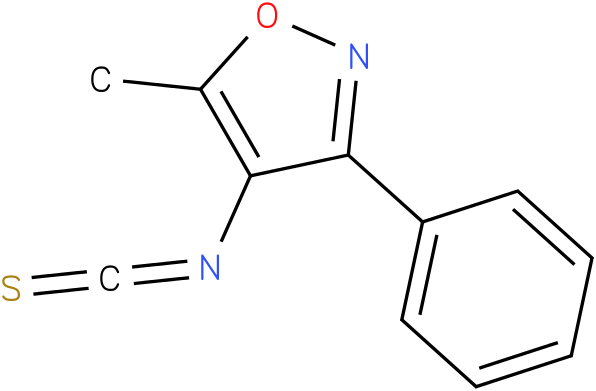 5-methyl-3-phenyl-4-isoxazolyl isothiocyanate