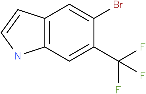 5-bromo-6-(trifluoromethyl)-1H-indole