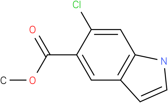 methyl 6-chloro-1H-indole-5-carboxylate