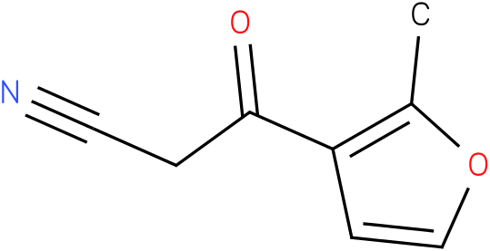 3-(2-methyl-3-furyl)-3-oxopropanenitrile