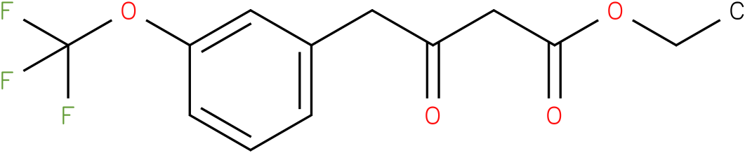 ethyl 3-oxo-4-(3-(trifluoromethoxy)phenyl)butanoate
