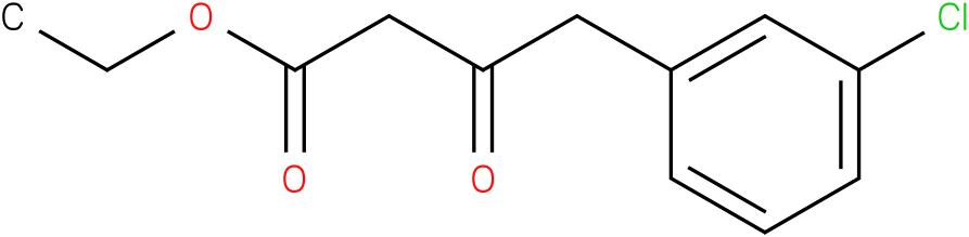 4-(3-chloro-phenyl)-3-oxo-butyric acid ethyl ester