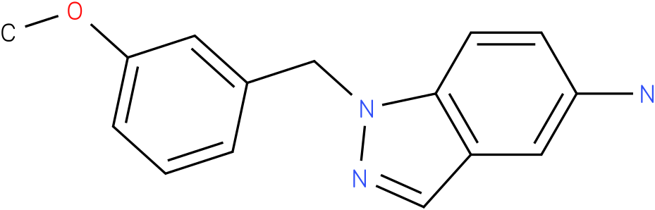 1H-Indazol-5-amine,1-[(3-methoxyphenyl)methyl]-