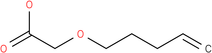 2-(pent-4-enyloxy)acetic acid