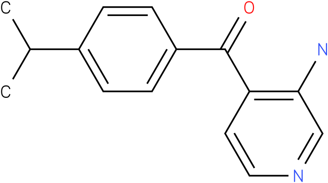 (3-Amino-pyridin-4-yl)-(4-isopropyl-phenyl)-methanone
