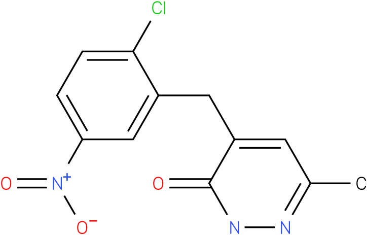 4-(2-Chloro-5-nitro-benzyl)-6-methyl-2H-pyridazin-3-one