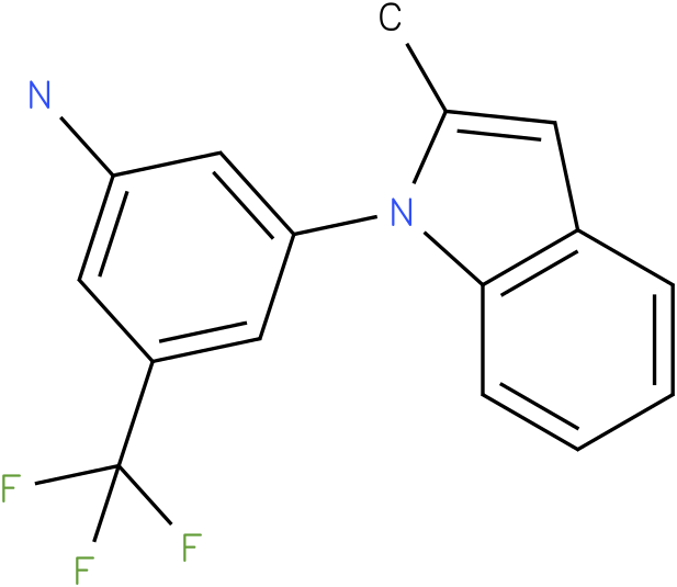3-(2-Methyl-indol-1-yl)-5-trifluoromethyl-phenylamine