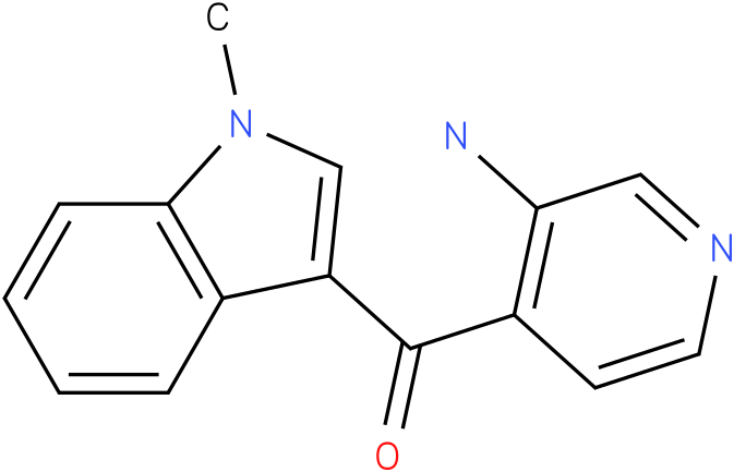 (3-Amino-pyridin-4-yl)-(1-methyl-1H-indol-3-yl)-methanone