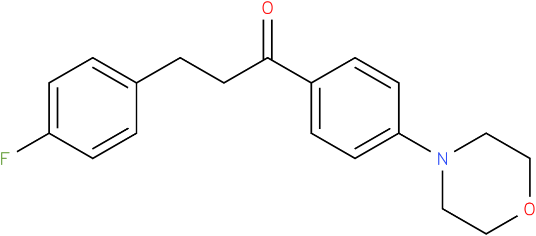 3-(4-Fluoro-phenyl)-1-(4-morpholin-4-yl-phenyl)-propan-1-one