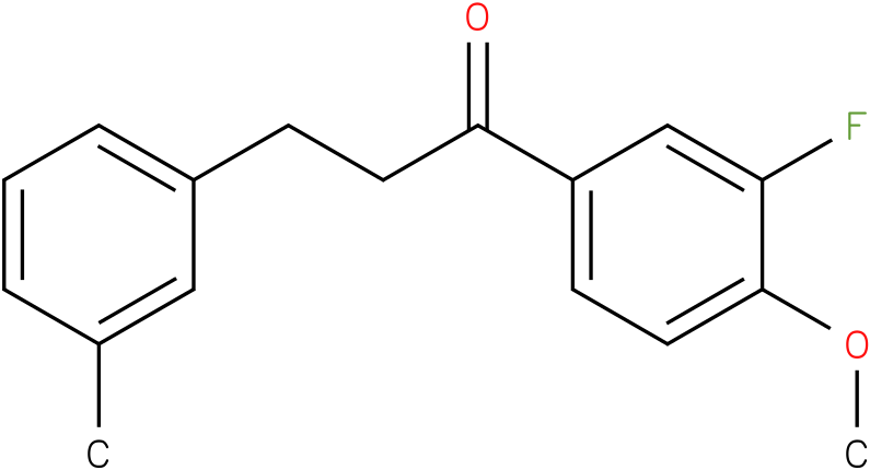 1-(3-Fluoro-4-methoxy-phenyl)-3-m-tolyl-propan-1-one