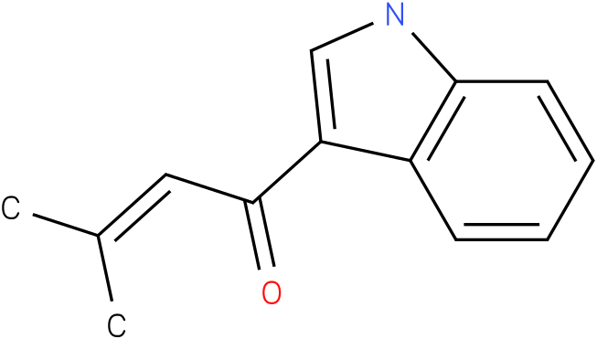 1-(1H-Indol-3-yl)-3-methyl-but-2-en-1-one