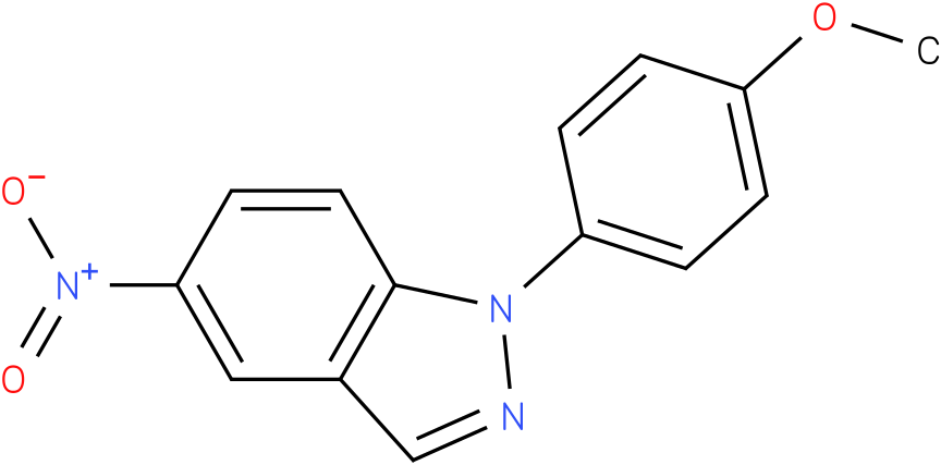1-(4-Methoxy-phenyl)-5-nitro-1H-indazole