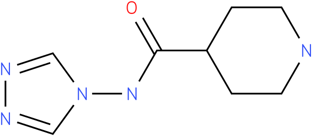 Piperidine-4-carboxylic acid [1,2,4]triazol-4-ylamide