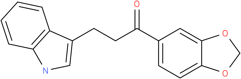 1-Benzo[1,3]dioxol-5-yl-3-(1H-indol-3-yl)-propan-1-one