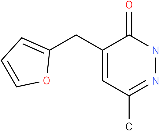 4-Furan-2-ylmethyl-6-methyl-2H-pyridazin-3-one