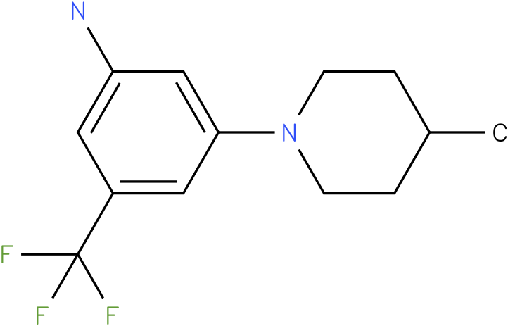 3-(4-Methyl-piperidin-1-yl)-5-trifluoromethyl-phenylamine