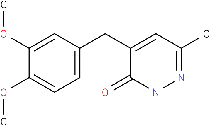 4-(3,4-Dimethoxy-benzyl)-6-methyl-2H-pyridazin-3-one