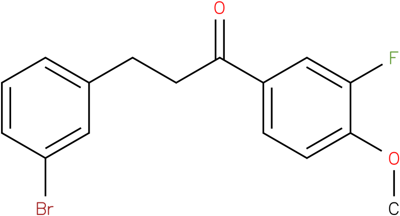 3-(3-Bromo-phenyl)-1-(3-fluoro-4-methoxy-phenyl)-propan-1-one