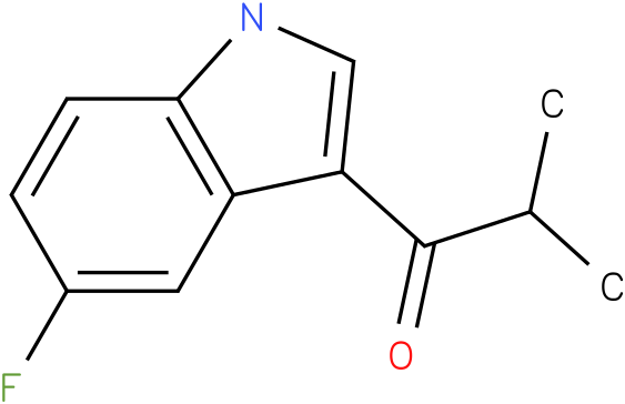 1-(5-Fluoro-1H-indol-3-yl)-2-methyl-propan-1-one