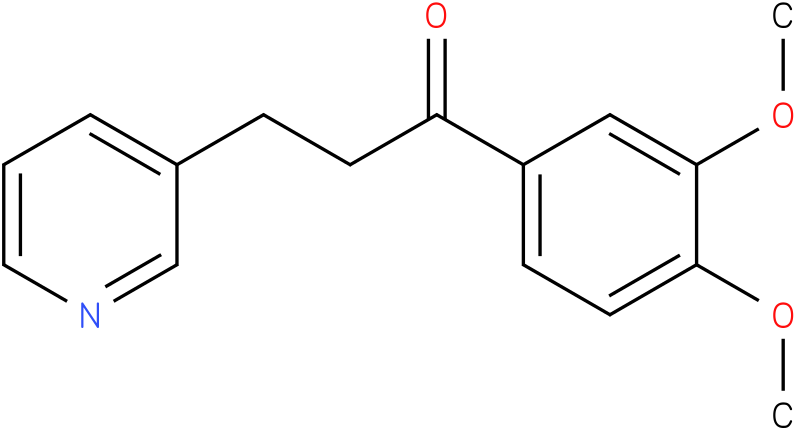 1-(3,4-Dimethoxy-phenyl)-3-pyridin-3-yl-propan-1-one