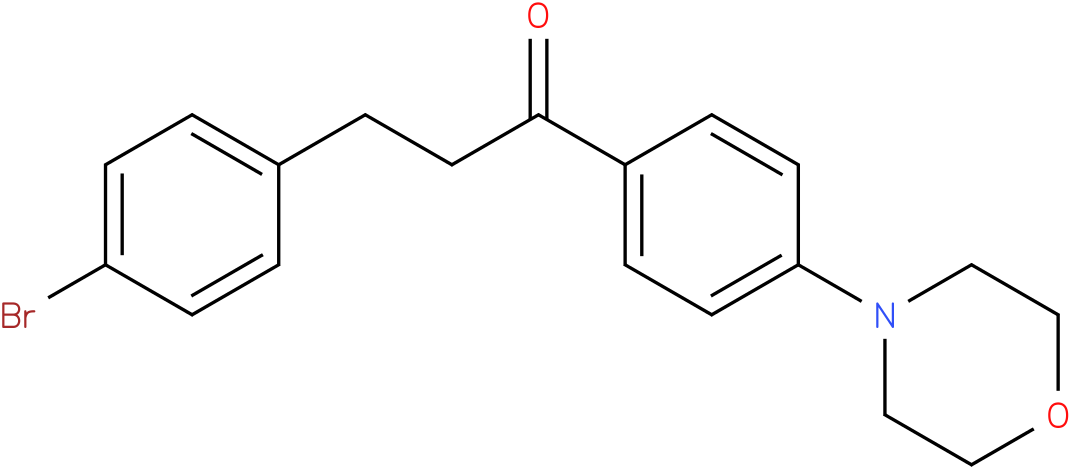 3-(4-Bromo-phenyl)-1-(4-morpholin-4-yl-phenyl)-propan-1-one