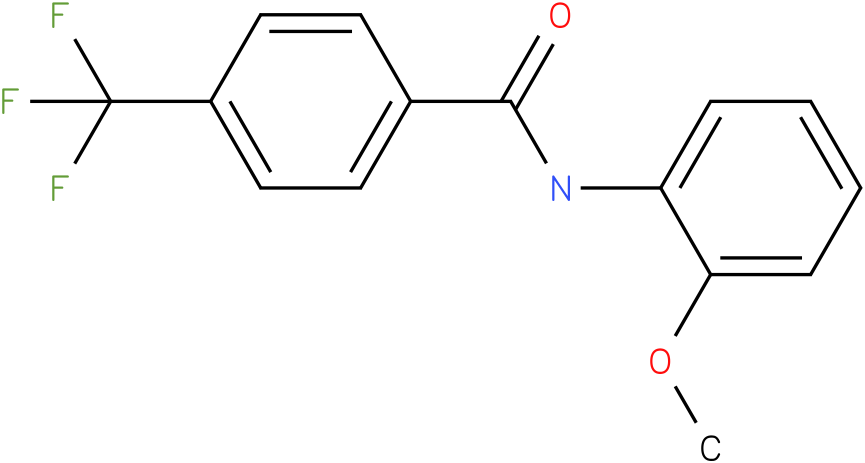 N-(2-Methoxy-phenyl)-4-trifluoromethyl-benzamide