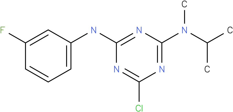 6-Chloro-N-(3-fluoro-phenyl)-N'-isopropyl-N'-methyl-[1,3,5]triazine-2,4-diamine