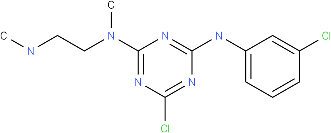 6-Chloro-N-(3-chloro-phenyl)-N'-methyl-N'-(2-methylamino-ethyl)-[1,3,5]triazine-2,4-diamine